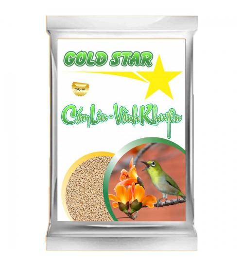 Cám chim vành khuyên Gold Star - Líu gói 200gram
