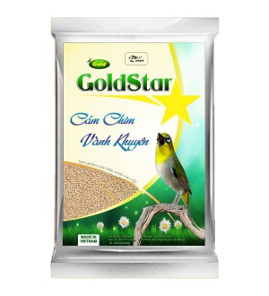 Cám chim vành khuyên Gold Star - Thi Đấu gói 200gram