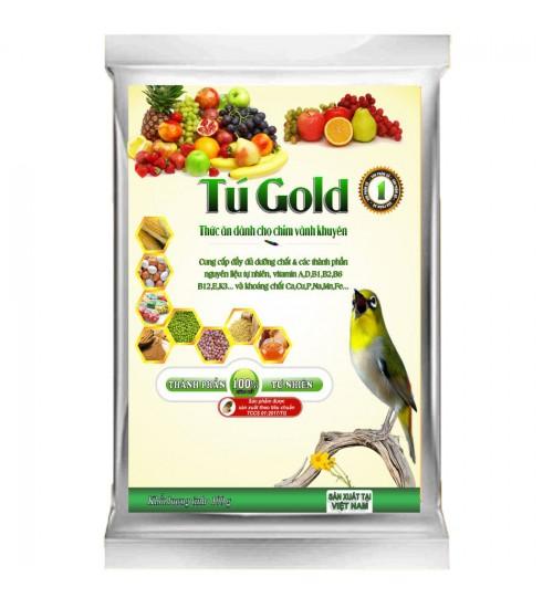Cám chim vành khuyên Tú Gold số 1 - Gói 100gram