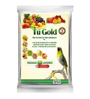 Cám chim vành khuyên Tú Gold số 3 - Gói 100gram