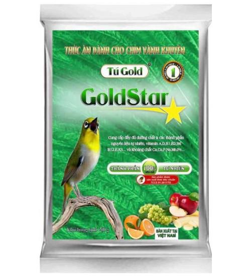 Cám chim Gold Star đỗ xanh số 1 - Dưỡng 100 gram
